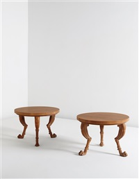 early side tables (from the sans époque collection) (pair) by t.h. robsjohn-gibbings