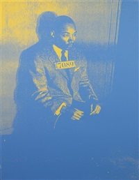 pig portrait: martin luther king, jr by russell young