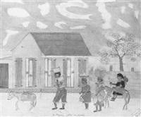 les paysans allant au marche by sénèque obin