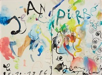 jean-pierre,1986 by jean tinguely