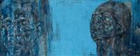 two black men by leon golub