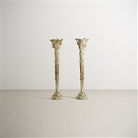torchieres (pair) by serge roche