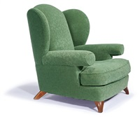 wing armchair by roy mcmakin