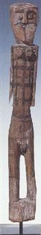 untitled (female figure) by micky geranium warlpinni