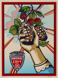 imperial glory by shepard fairey