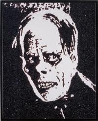 phantom of the opera (from caviar monsters) by vik muniz