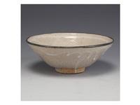 karatsu tea bowl by taroemon nakazato