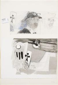 sans titre (le peintre invisible) by jean le gac