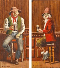 odd pair (2 works) by robert young
