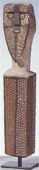 untitled (mobadidi figure) by micky geranium warlpinni