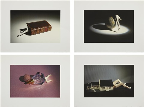 lying objects set of 4 by laurie simmons