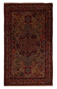 hunting rug by george bain