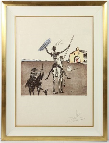 historia de don quichotte de la manchathe impossible dream by salvador dalí