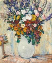 vase fleuri by pierre paulus