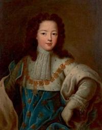 portrait de louis xv enfant by pierre gobert