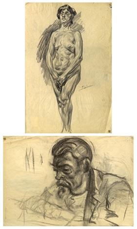desnudo recto y retrato verso by francisco gimeno arasa