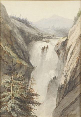 la cascade by alexandre calame