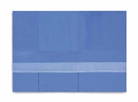 open no. 23: in blue with variations of ultramarine by robert motherwell