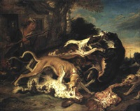 hundslagsm+l by juriaen jacobsz