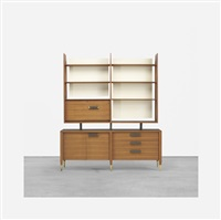display cabinet, model 4120 by gio ponti