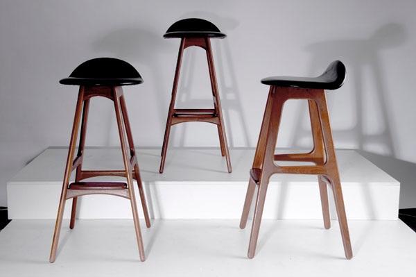 Barstühle barstühle set of 3 erik buck auf artnet