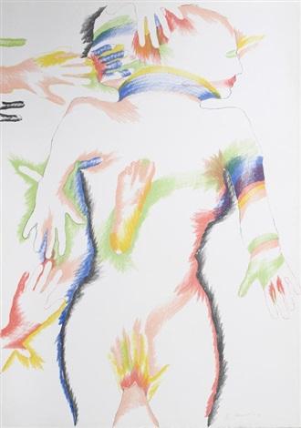 rainbow people by marisol escobar