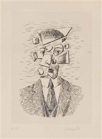 untitled (from aube à l'antipode) by rené magritte