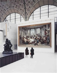 musée d'orsay ii, paris by thomas struth
