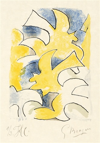 migration oiseau fulgurant pl 3 10 2 works from lettera amorosa by georges braque