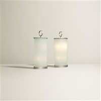 ogivali table lamps (pair) by gio ponti