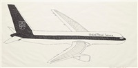 airplanes #20 (ups) by aleksandra mir