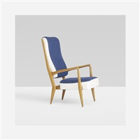 lounge chair, model 589 by gio ponti