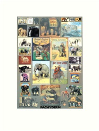 p is for pachyderm by peter blake