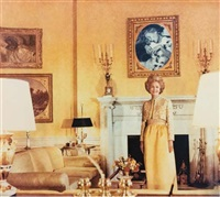 first lady - pat nixon by martha rosler