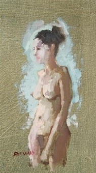 standing nude by eric ward