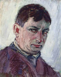 portrait de l'artiste by georg einbeck
