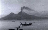 fishing in the bay of naples by g. corelli