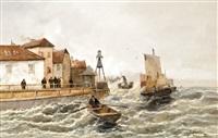 holland tengerparti városka by j. carlon