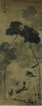 花鸟图 by bada shanren
