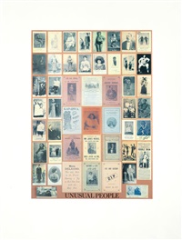 u is for unusual people by peter blake