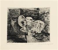 tiere und menschen (10 works) by hans grundig