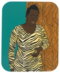 all i want is a fighting chance by mickalene thomas