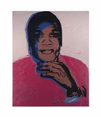 ladies and gentlemen (alphanso panell) by andy warhol