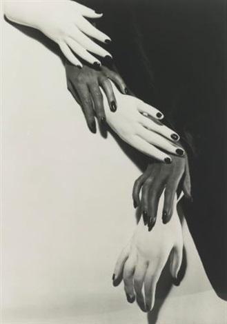 hands hands ny by horst p horst