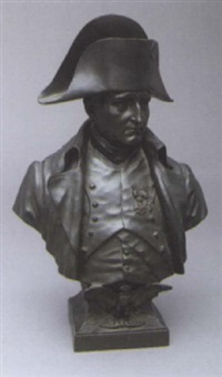 bust of napoleon by george ernest saulo