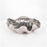 shell console bowl by arthur court