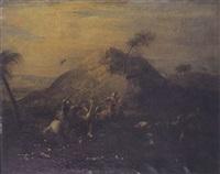 la chasse à l'autruche by simonini