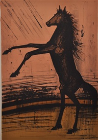 le cheval by bernard buffet