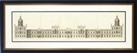 vitruvius brittanicus (set of 4 works) by hendrick hulsbergh