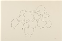 grape leaves i (from leaves) by ellsworth kelly